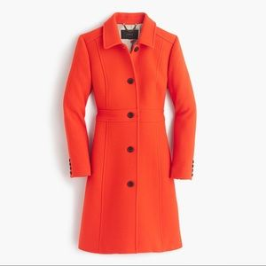 J. Crew Double Cloth lady coat